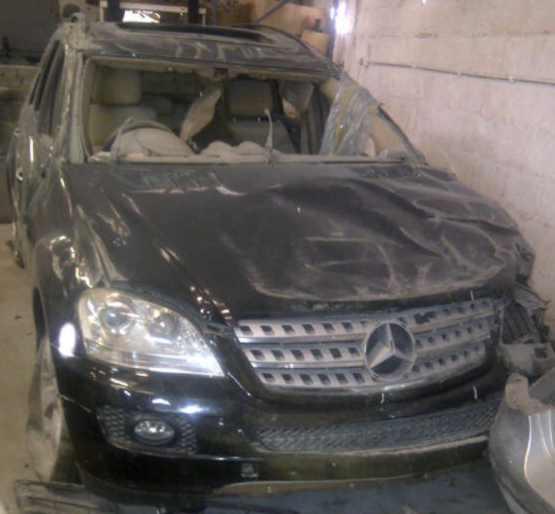 Mercedes benz ml stripping for spares matadoor salvage for Mercedes benz scrap yard