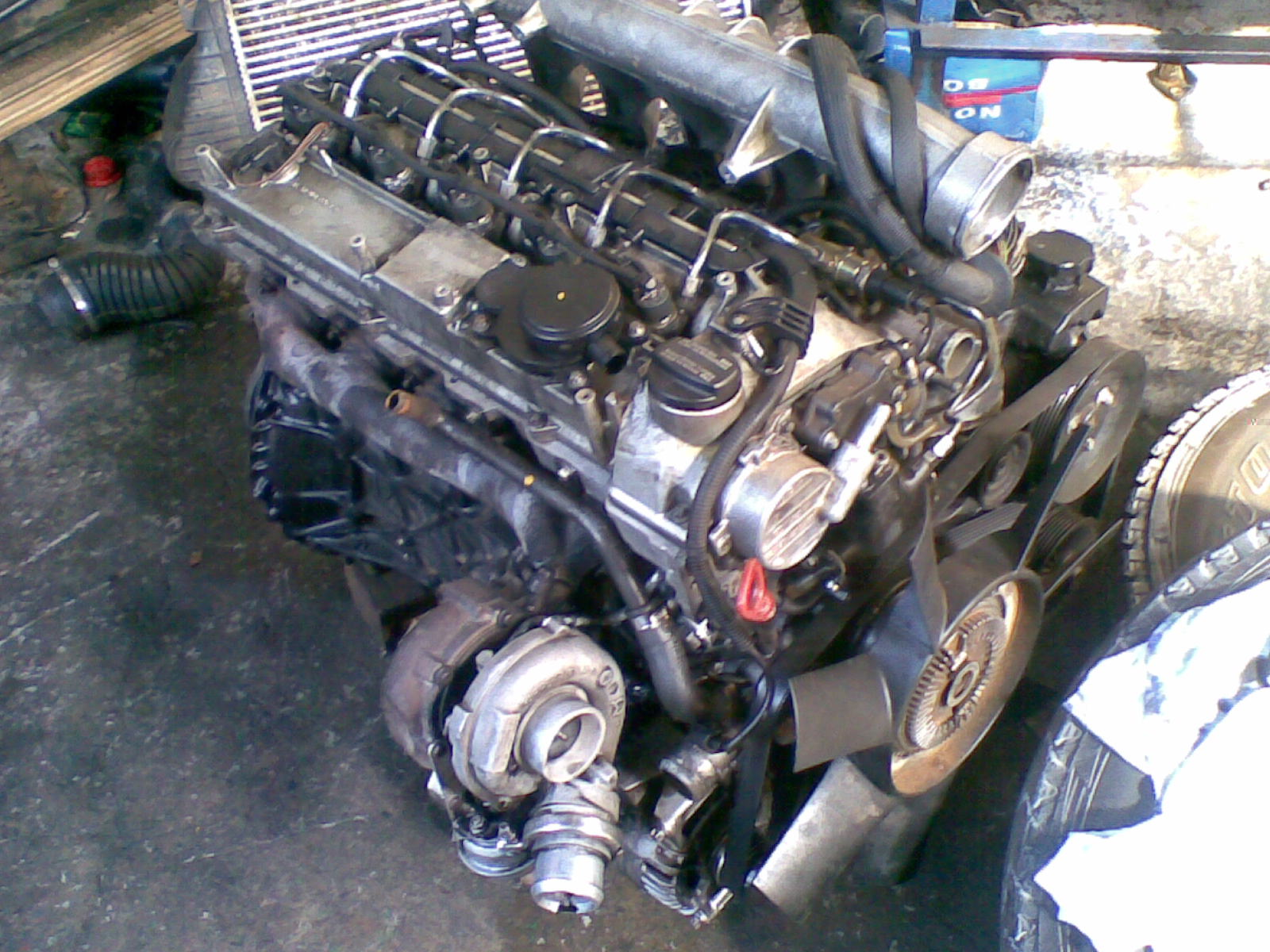 Mercedes benz sprinter 416 cdi complete engine matadoor for Mercedes benz sprinter engine