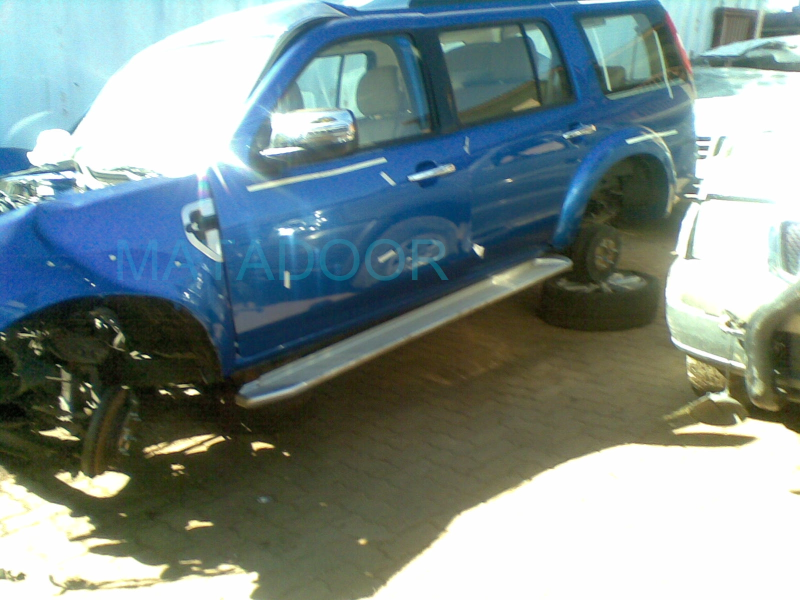 2012 Ford Everest stripping for spares | Matadoor Salvage