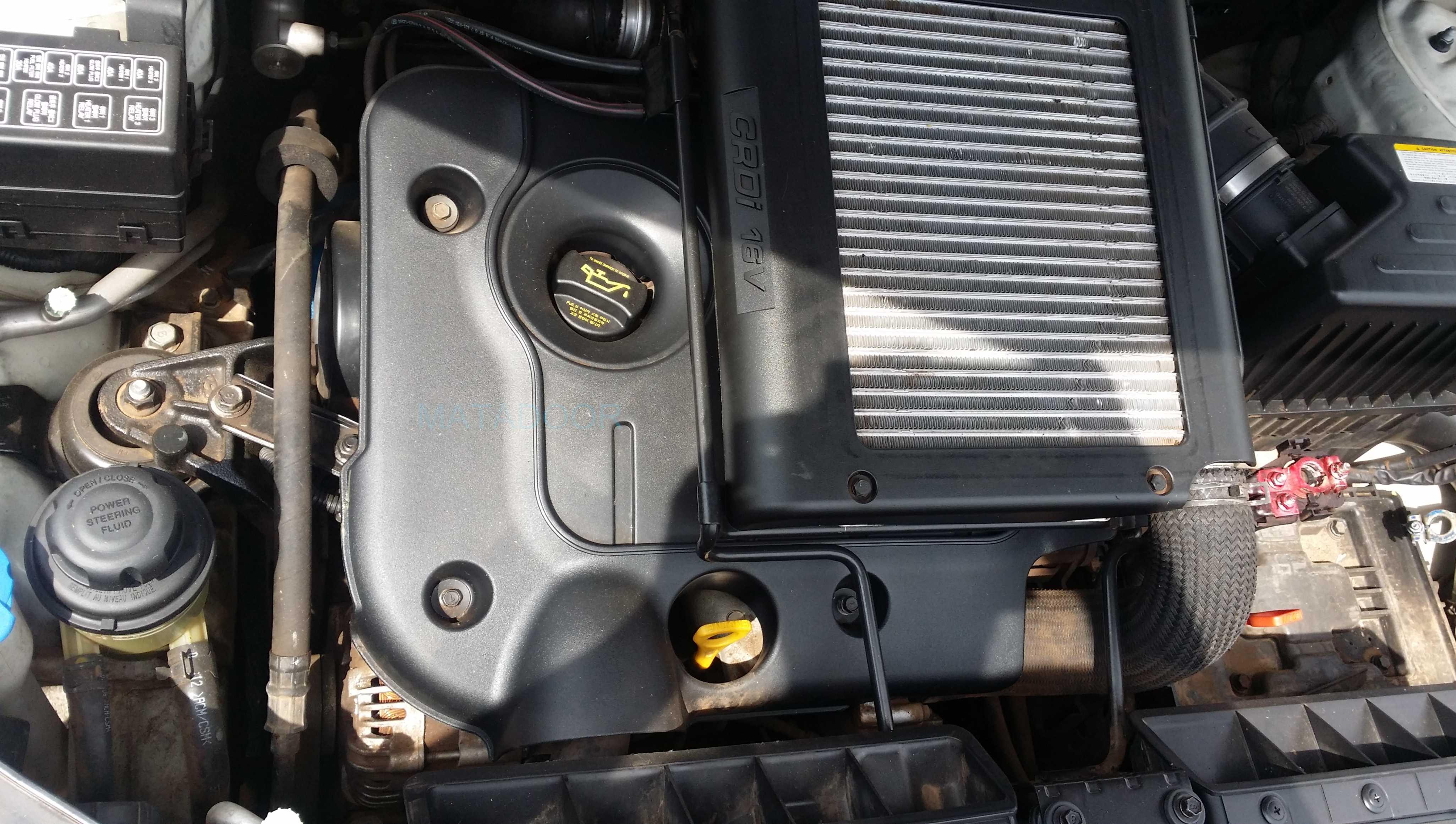 Hyundai Santa Fe 2 2 Diesel Engine D4eb Matadoor Salvage
