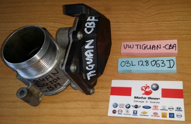 When To Replace Shocks And Struts >> 2013 VW Tiguan 2.0 TDI Throttle Body-CBA-03L 128 063 D | Matadoor Salvage