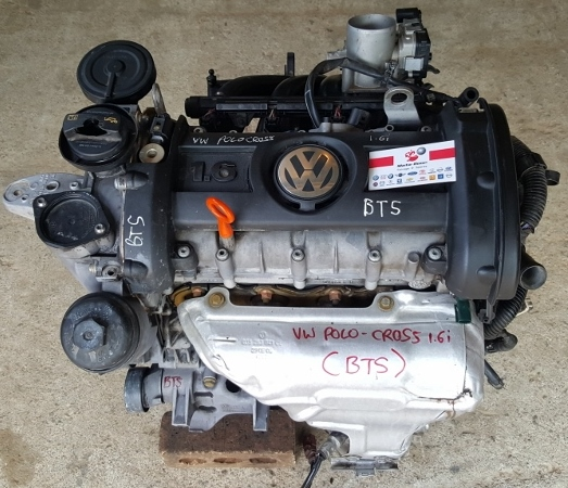 2011 VW Polo 6 Cross 1.6I Engine Complete-BTS